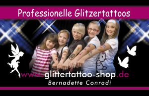 glitzer tattoos