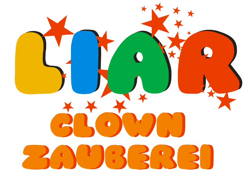 Logo Clown Zauberer LIAR in NRW
